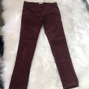 J Cew cuts girls pants!